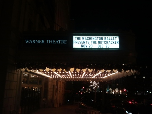 the warner theater nutcracker