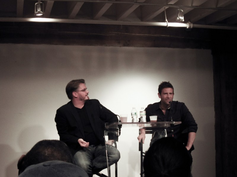 Chase Jarvis and Vincent LaForet, ShootNYC Convention, October 2012.