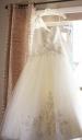 davids bridal dress los angeles desert wedding photos