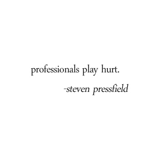 steven pressfield turning pro quote