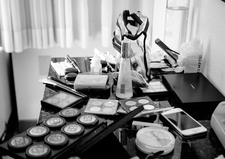 wedding day makeup photo