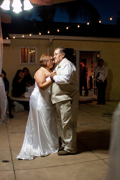 father daughter wedding dance photo