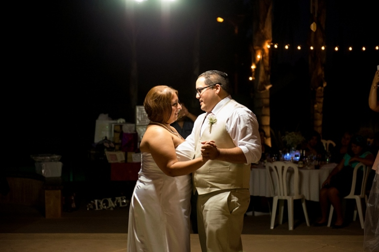 photography by paulina bride and groom dance reception photo